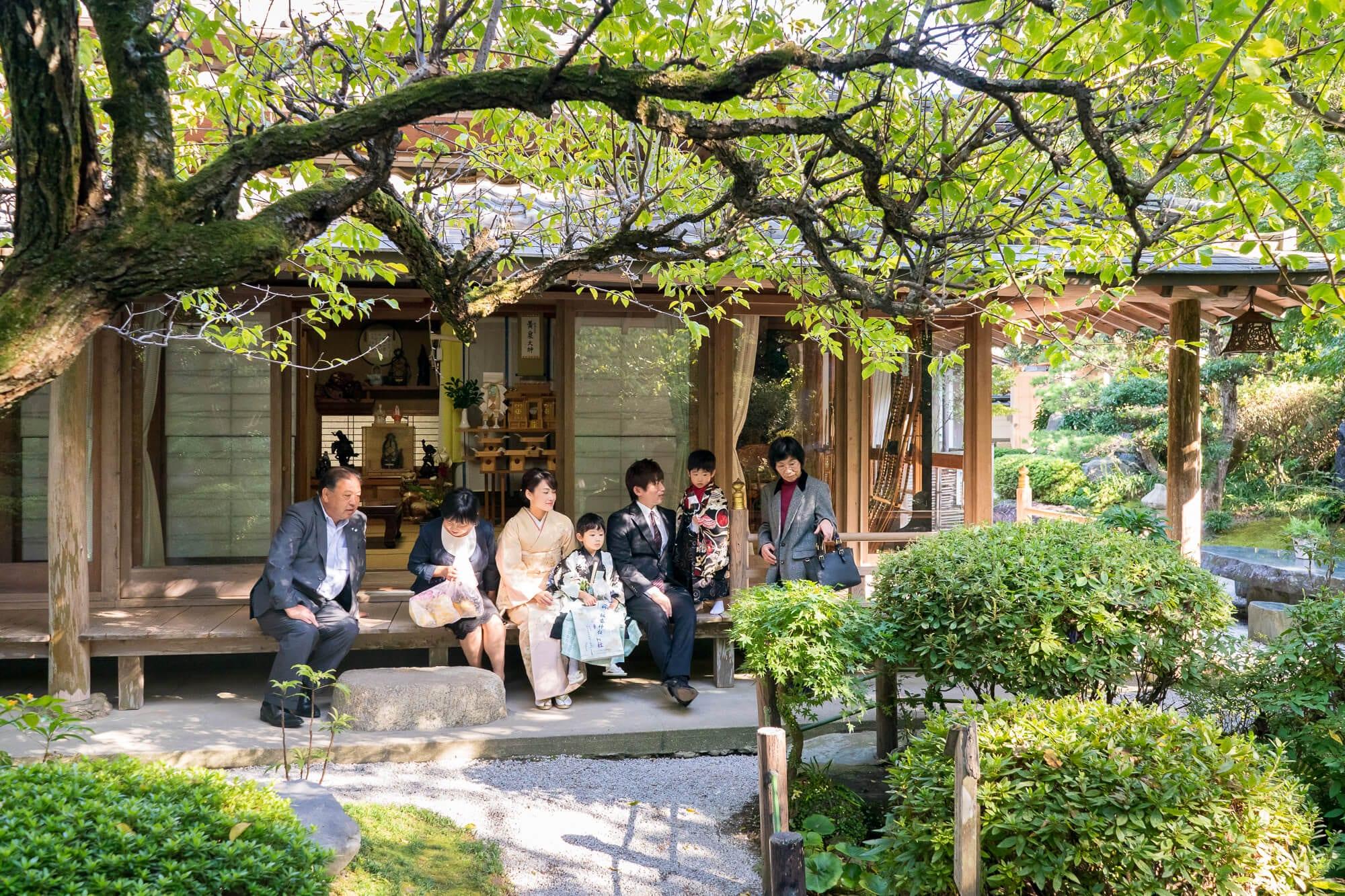 飯盛神社 黒田家所縁の日本庭園