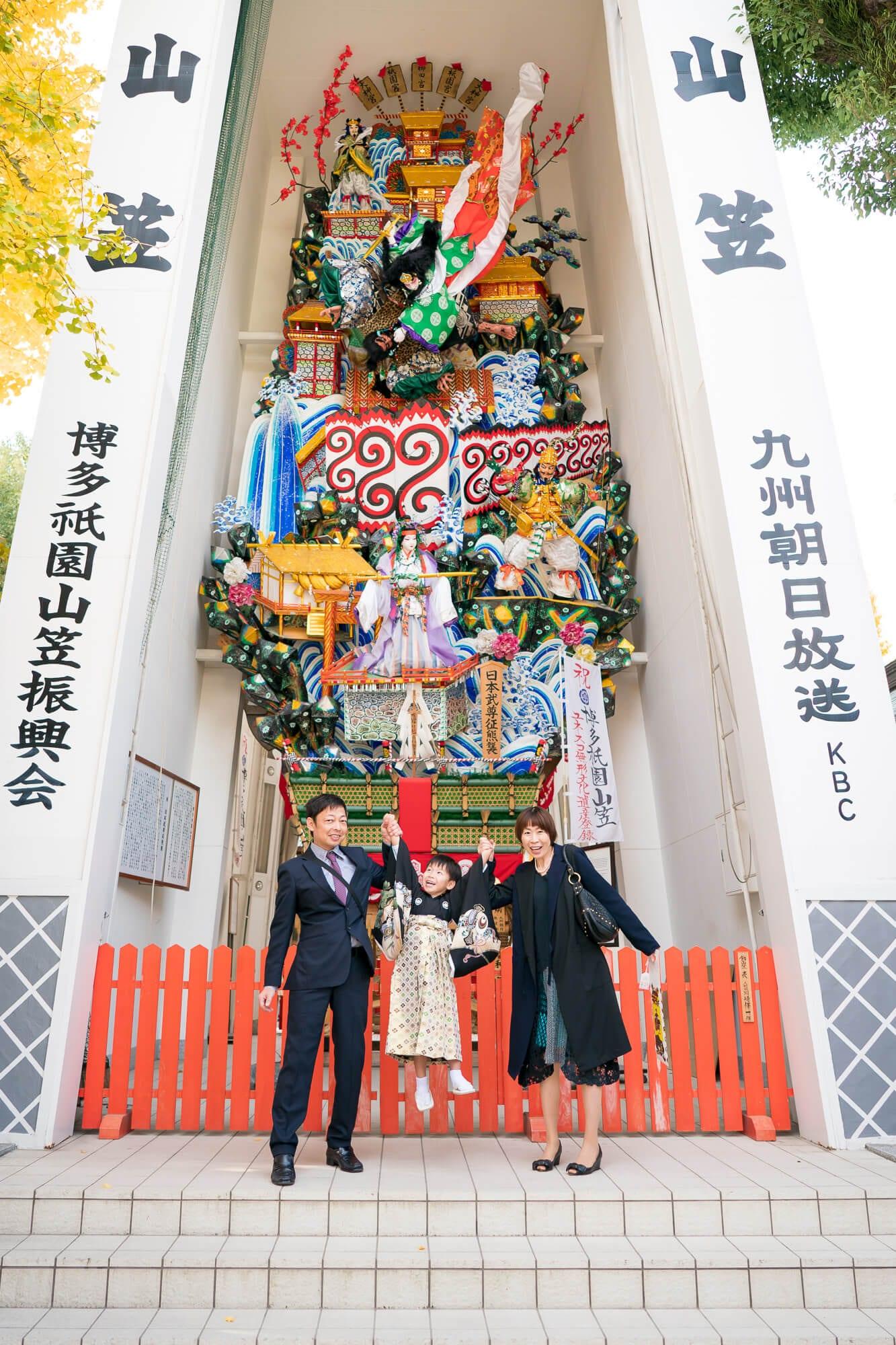 櫛田神社の博多祇園山笠