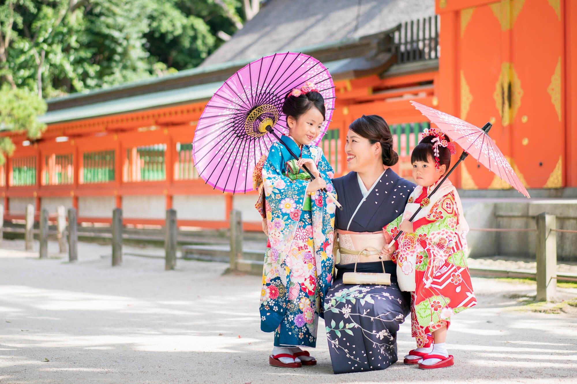 住吉神社 朱色が美しい本殿