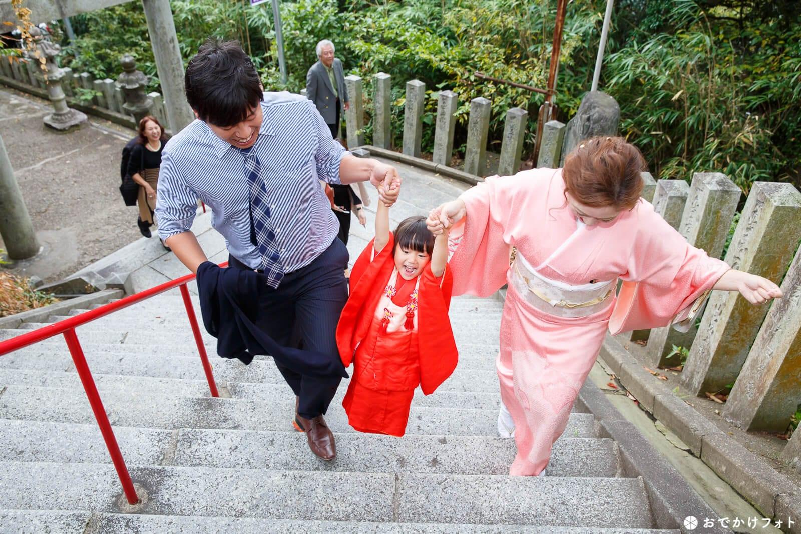 愛宕神社で七五三