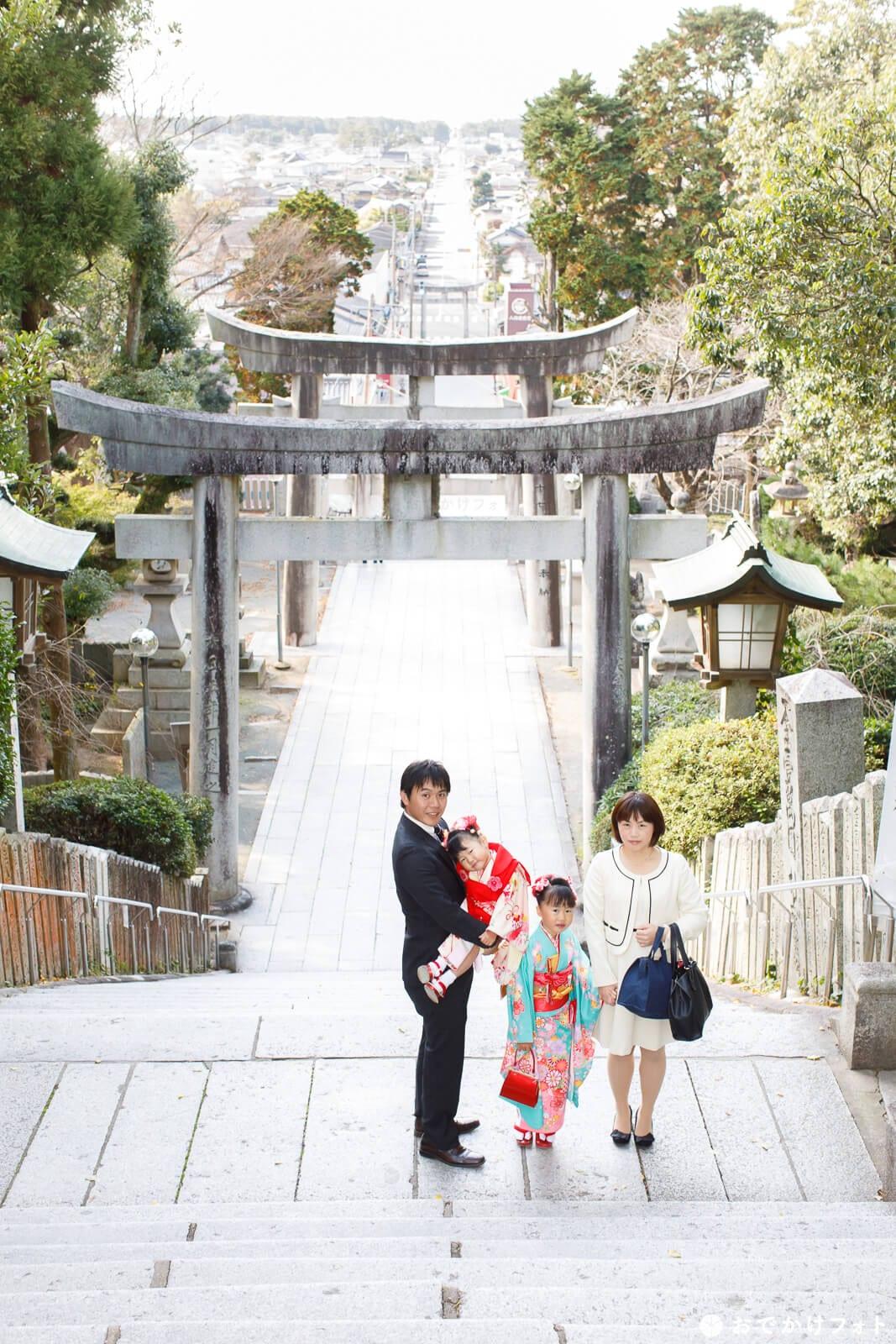 宮地嶽神社で七五三