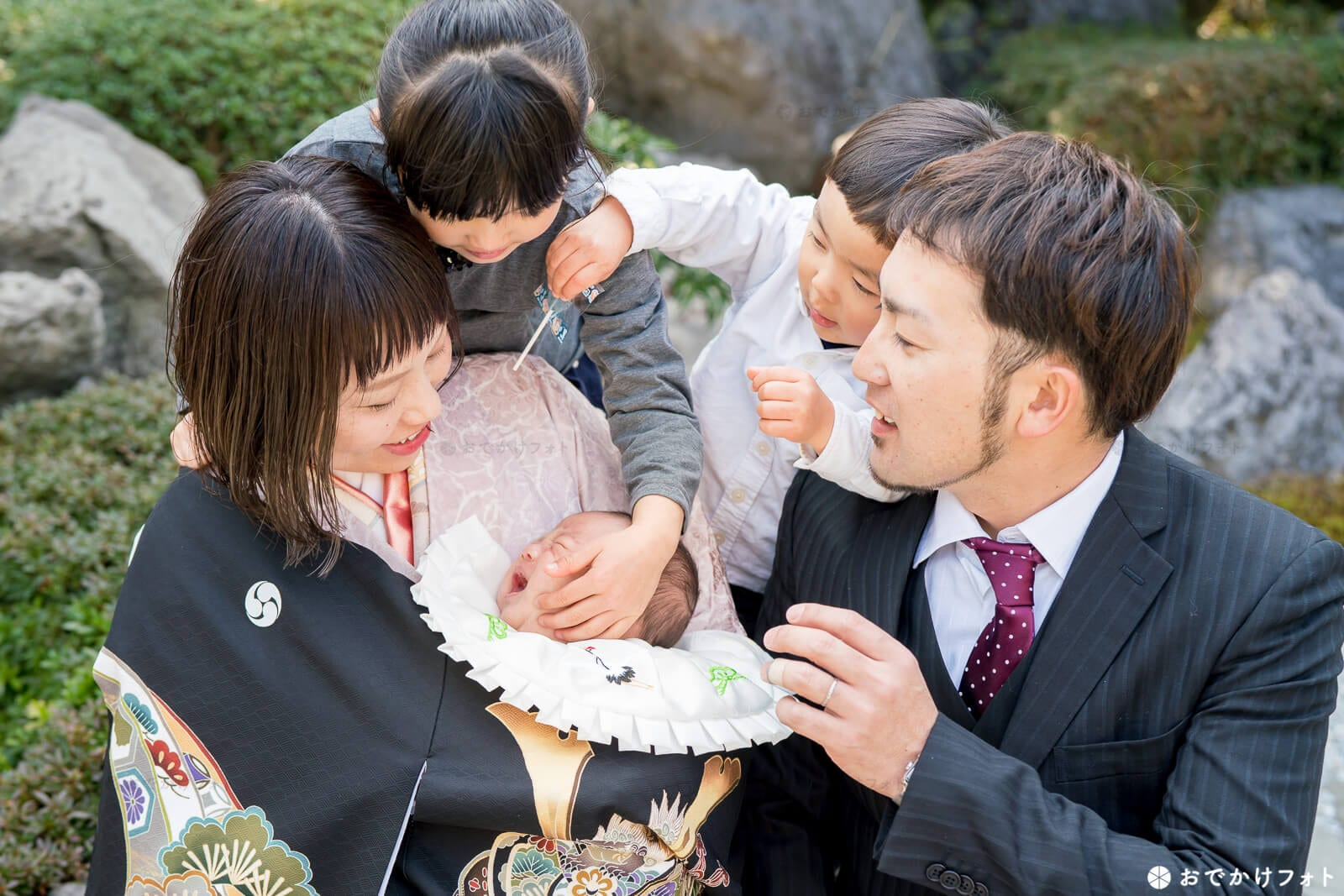 飯盛神社でお宮参り