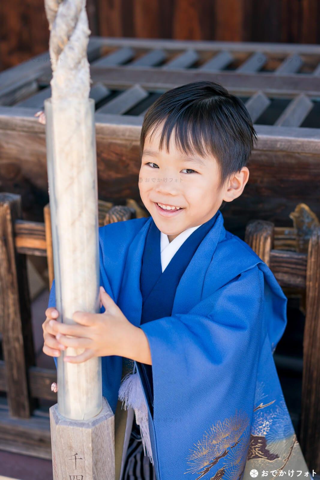与賀神社で七五三