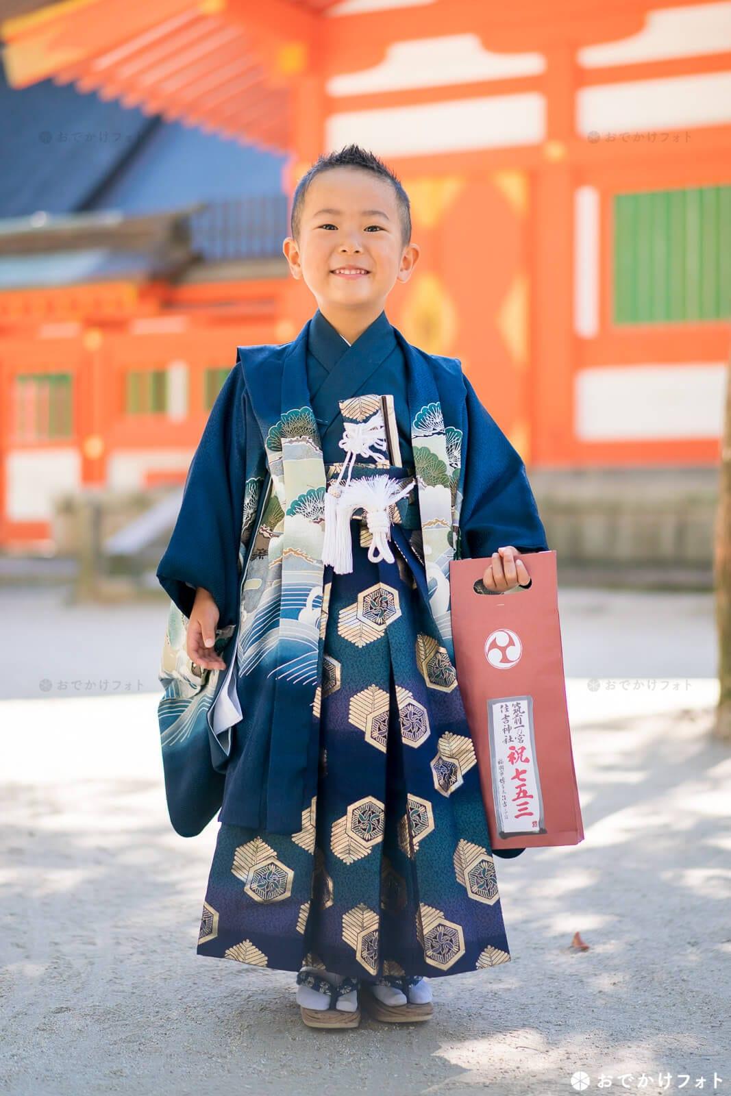 住吉神社の七五三千歳飴