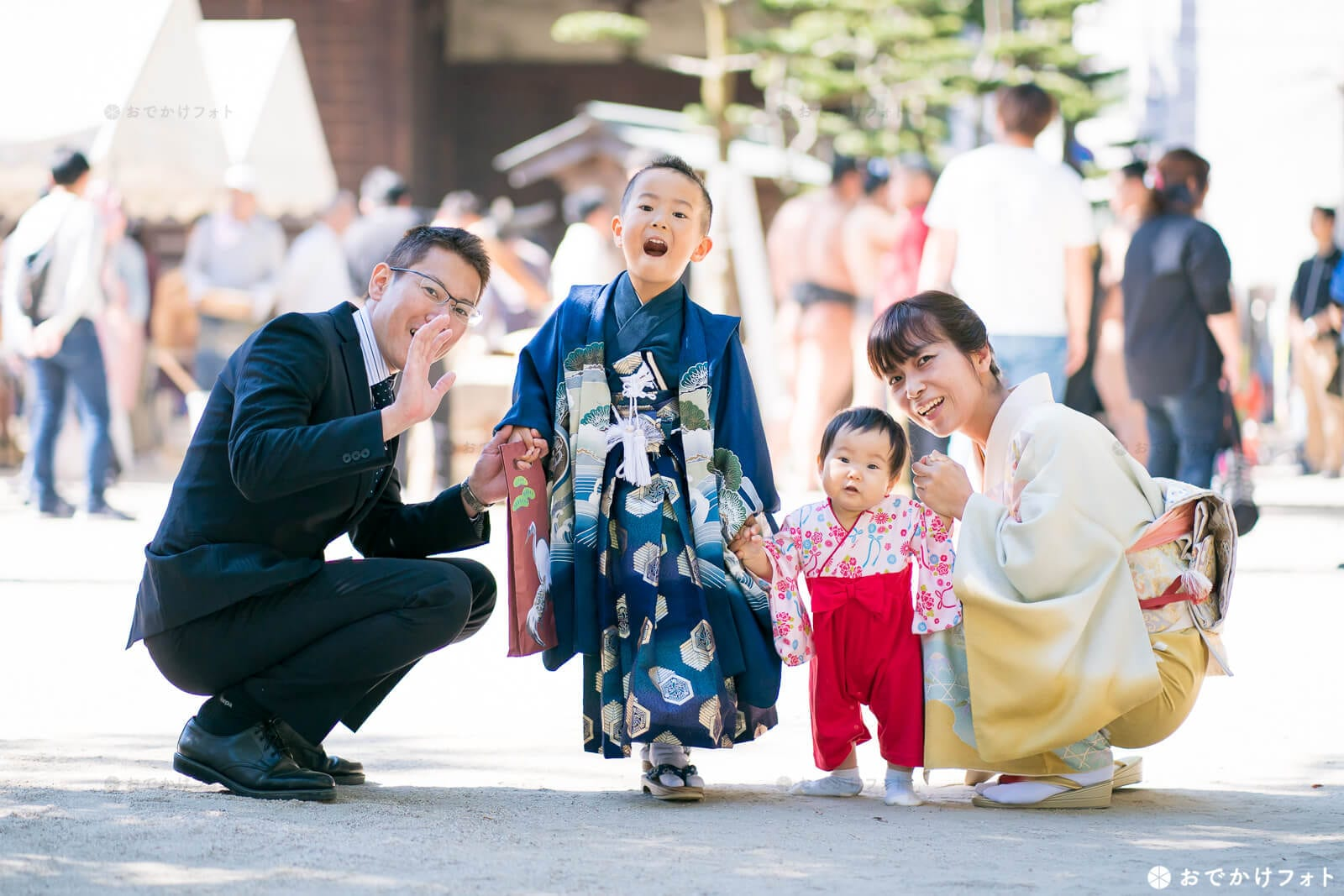 住吉神社で七五三