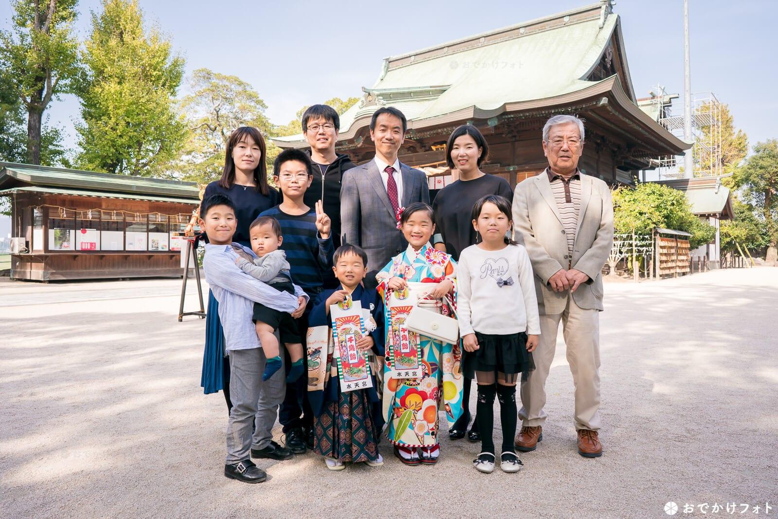 水天宮 七五三やお宮参りで人気の久留米の神社