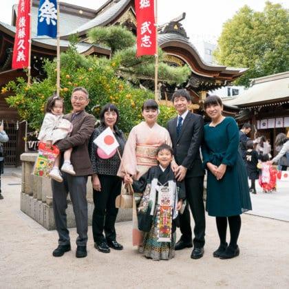 櫛田神社 七五三やお宮参りで人気の神社
