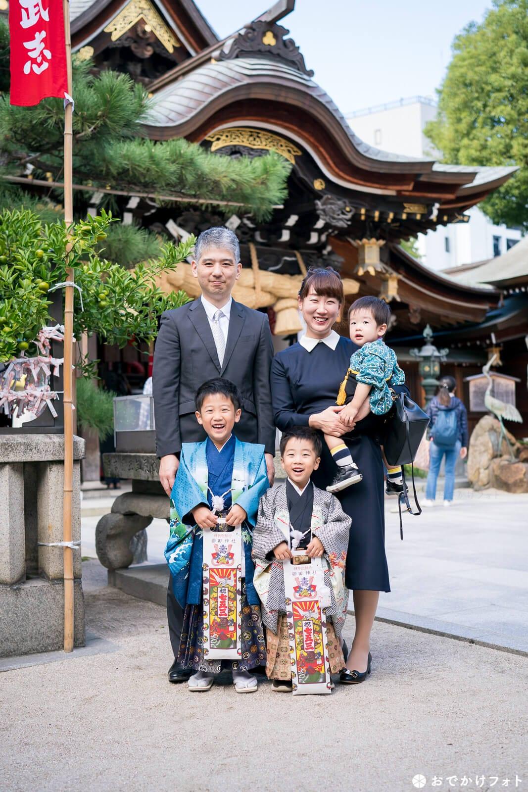 櫛田神社 七五三千歳飴