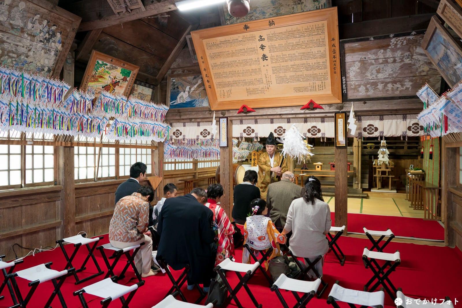 飯盛神社ご祈願