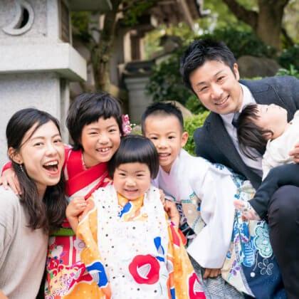飯盛神社で七五三