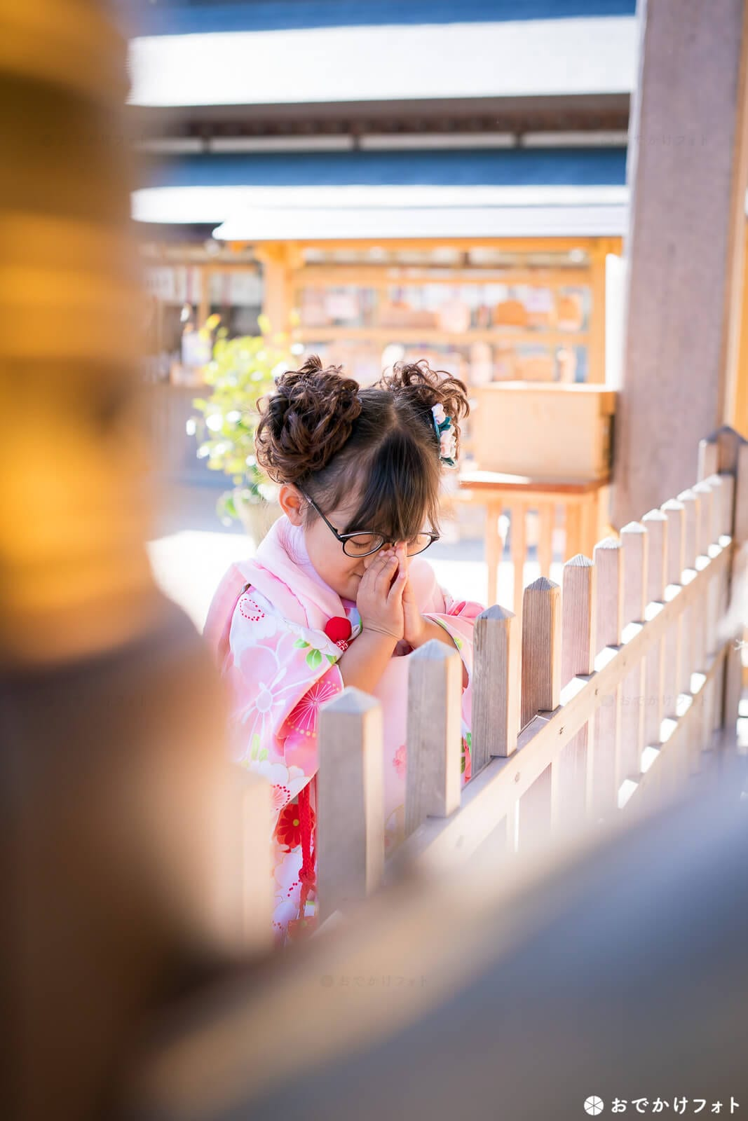 春日神社で七五三