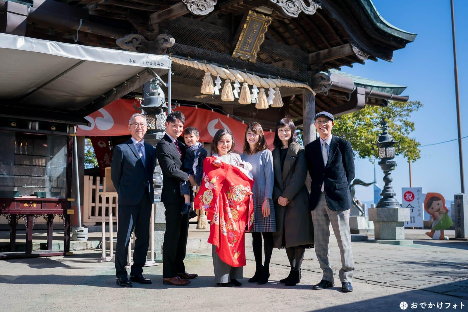 福岡愛宕神社 七五三やお宮参りで人気の神社