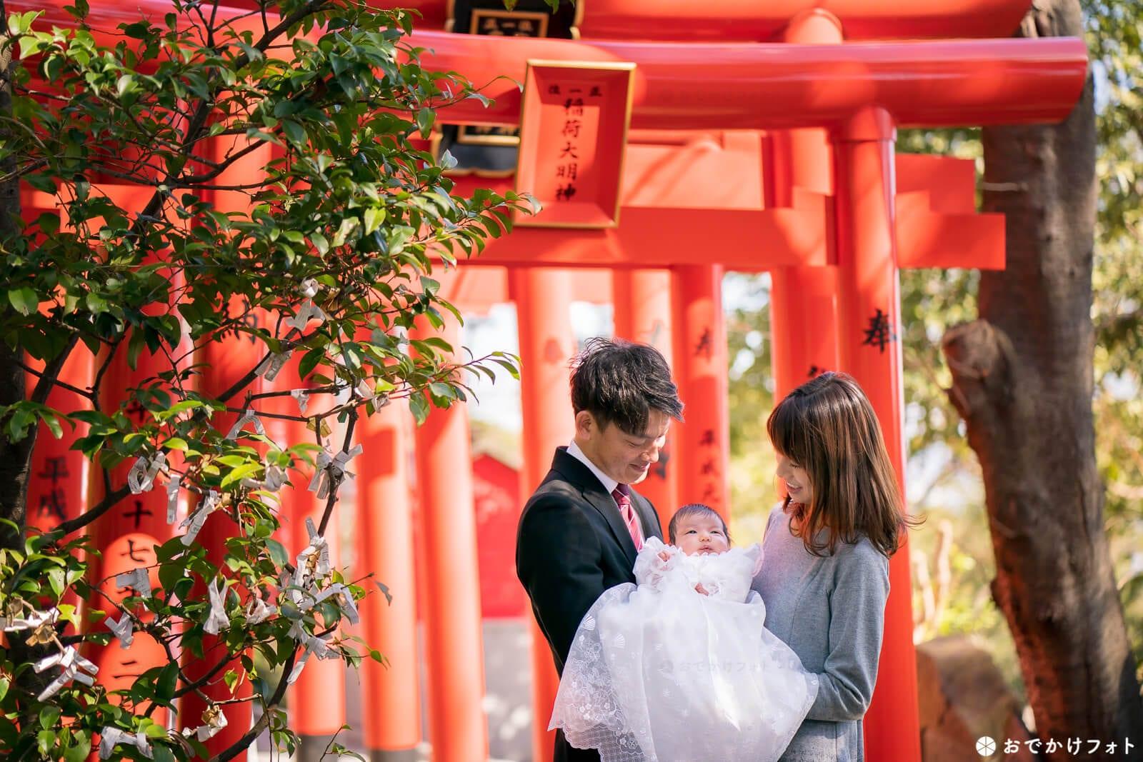 愛宕神社の稲荷神社