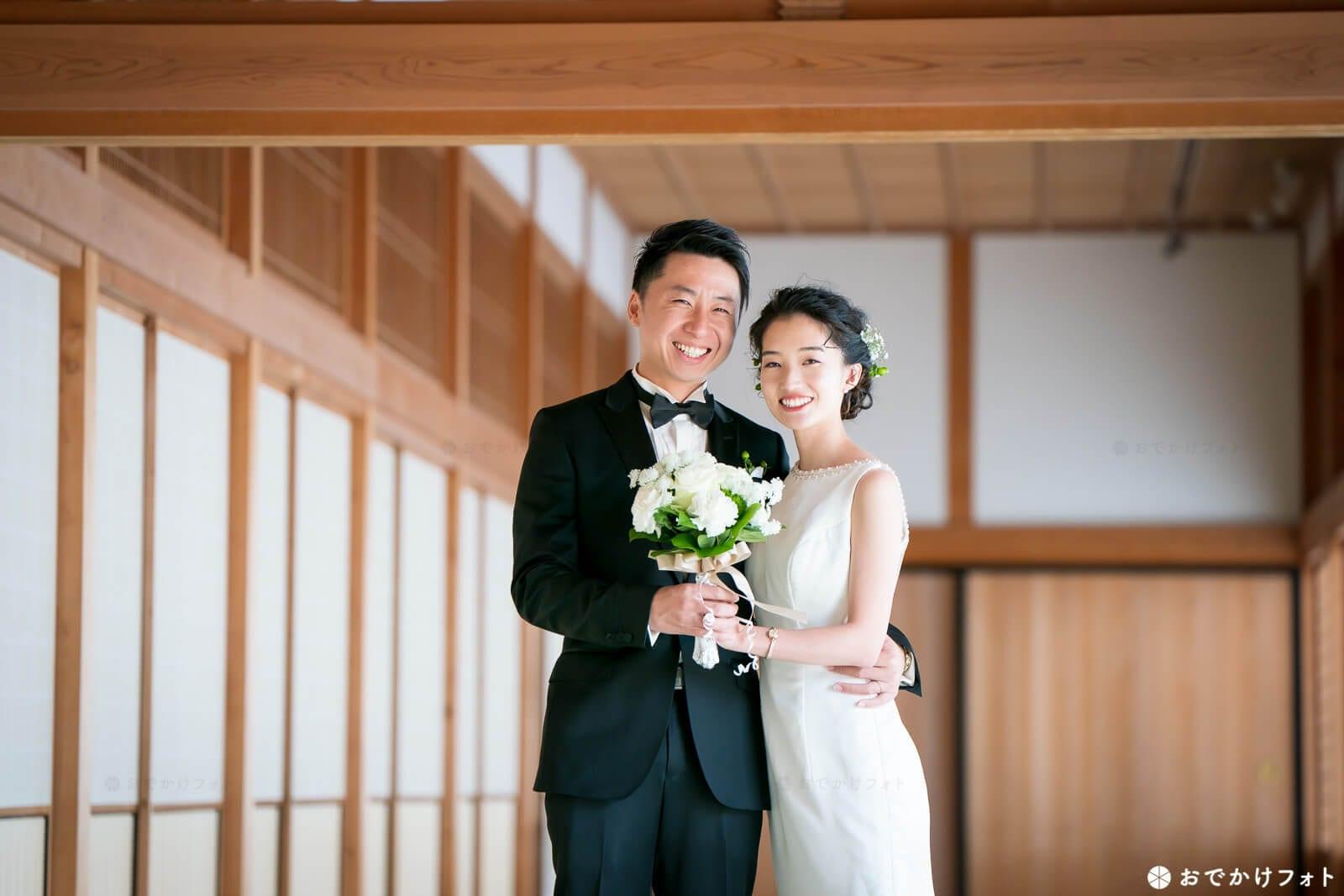 佐賀城本丸歴史館で結婚式の前撮り