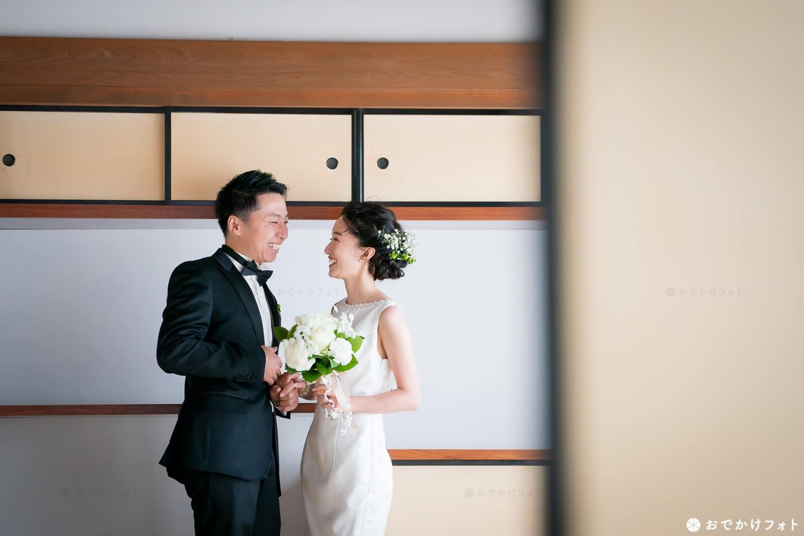 佐賀城本丸歴史館で結婚式の前撮りロケーションフォト出張撮影