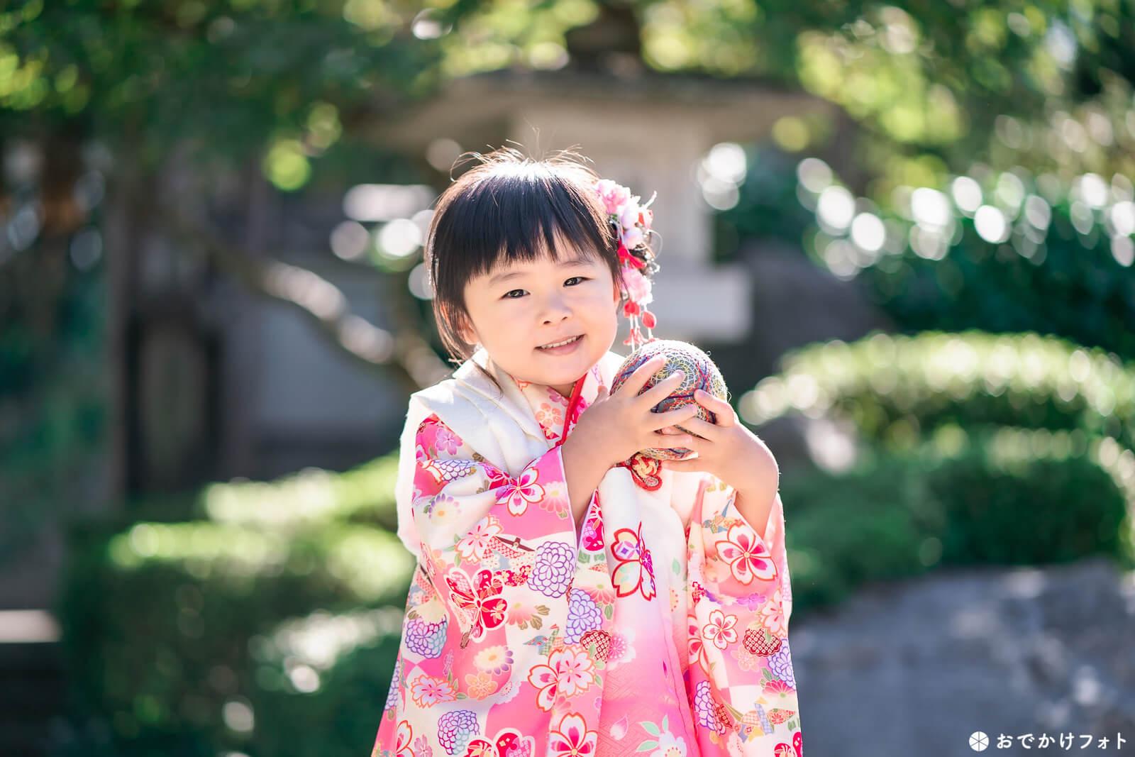 飯盛神社で七五三の出張撮影