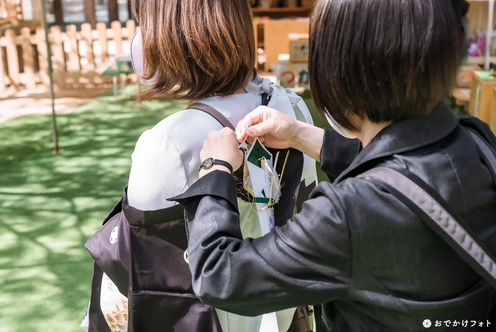 宇美八幡宮でお宮参り写真の出張ロケーション撮影